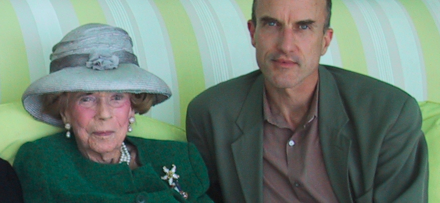 Brooke Astor and Philip Marshall