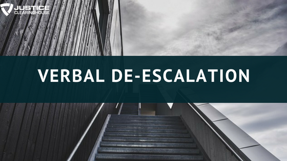 Verbal De-escalation