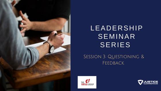 Virtus Leadership Seminar Series 3b