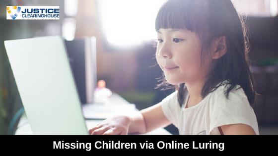 NCMEC Online luring