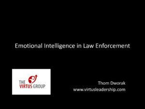 Emotional Intelligence Skills PPT - Justice Clearinghouse