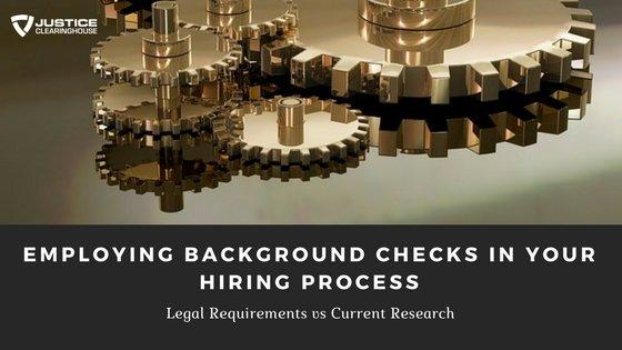 Employing Background Checks