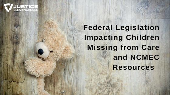 NCMEC Legislation and Resources (1)