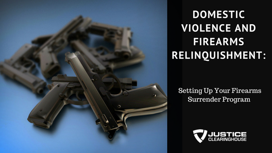 Setting Up Your Firearms Surrender Program