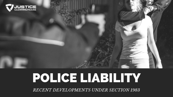 Liability Issues for Law Enforcement - Justice Clearinghouse