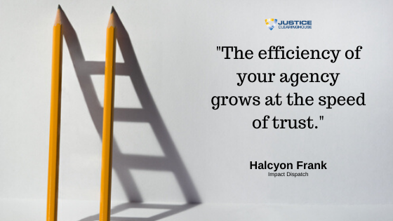 Thoughts On Trust From Halcyon Frank Justice Clearinghouse
